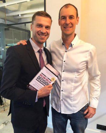 С Робертом Роли, автором книги «Решение на миллион долларов»